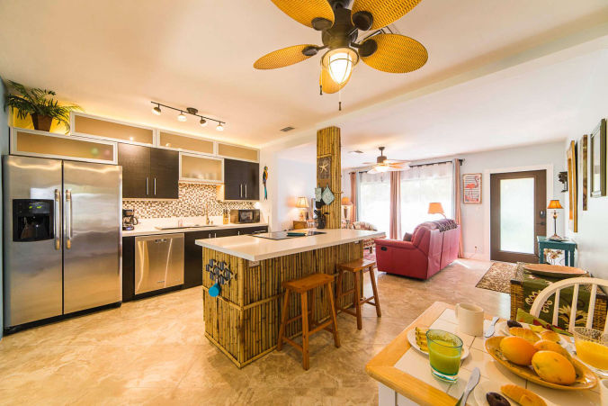 Flamingo House Vacation Rental, Fort Lauderale, Florida